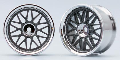 TW-1313GM  Ten mesh wheels (gunmetal)