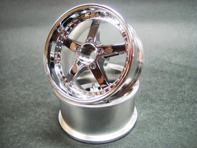 DW-1123CS  WORK EQUIP wheel offset3 chrome silver
