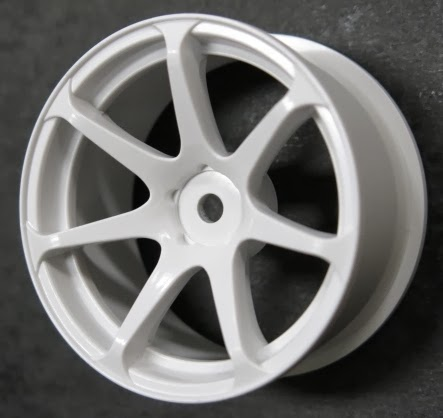 DW-1227WH  AVS model T7 wheel offset7 white