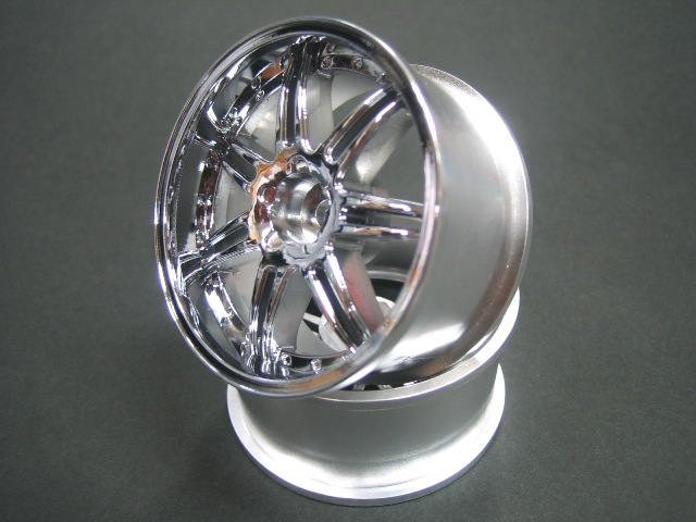 DW-829CS  GNOSIS GS5 wheel offset9 Chrom Silver