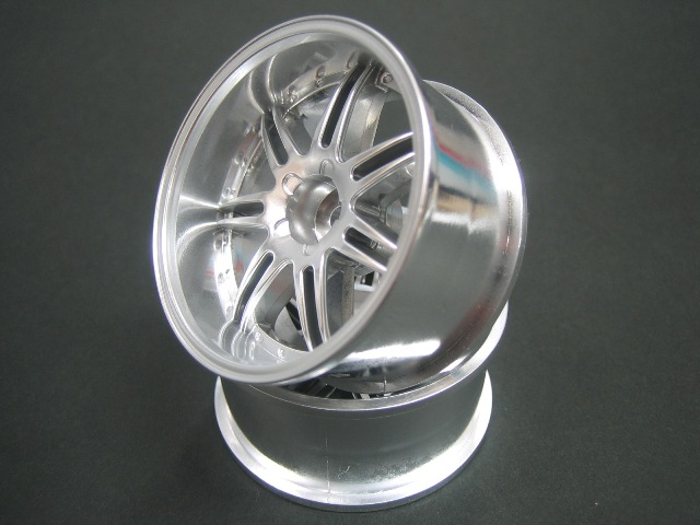 DW-827MS  GNOSIS GS5 wheel offset7 Matte Silver