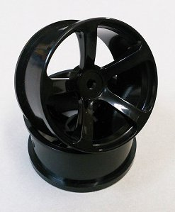 DRS-071BK  DRS-5 WHEEL OFFSET7 BLACK