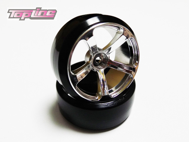 DRS-091MC  DRS-5 WHEEL OFFSET9 MATTE CHROME