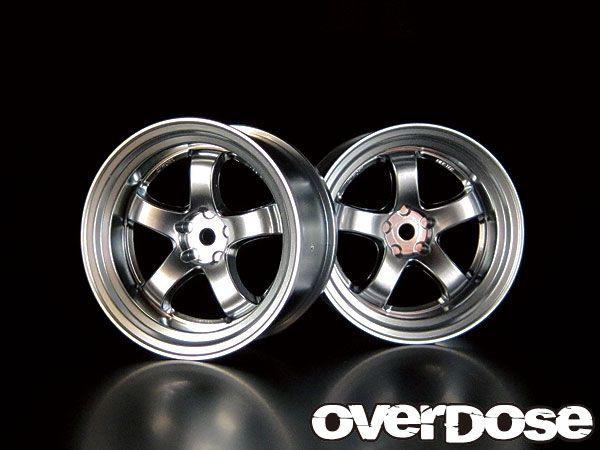 OVERDOSE OD1181 WORK MEISTER S1R (Matt Chrome/OFF+7)