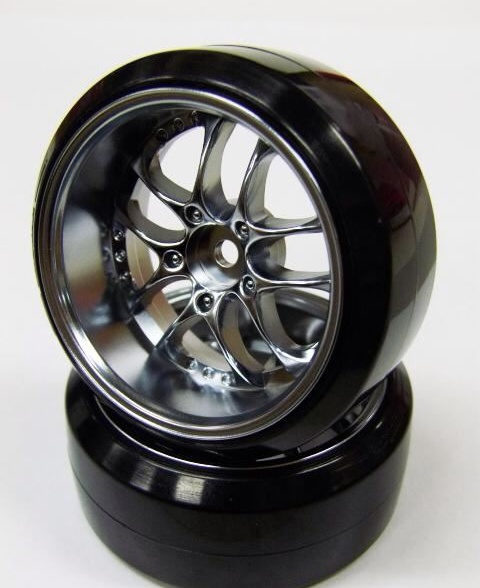 SAM-080MC SSR AGLE MINERVA WHEEL OFFSET8 MATTE CHROME