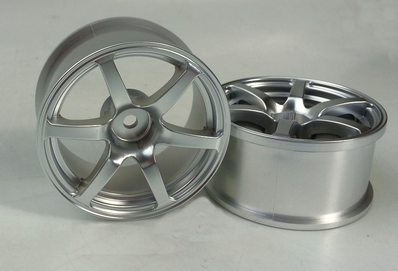DW-1327MS   AVS model T6 wheel offset7 matte silver
