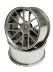 NFW-051MS  NF WHEEL ver.71  OFFSET5 MATTE SILVER