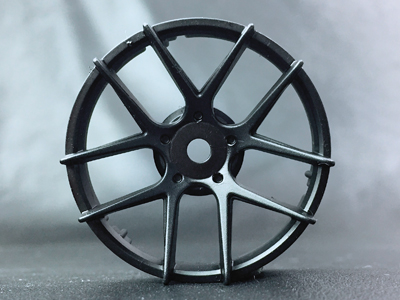 "TT-7551 ""Super RIM"" DISC ""Jasmine"" Matte BLACK 2pcs"