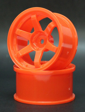 SPKV-009  6spoke wheel off8 orange