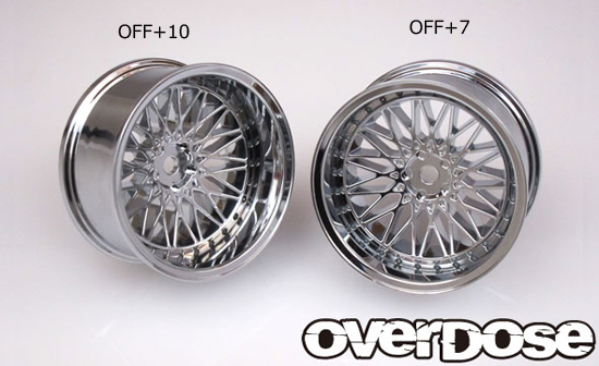 OVERDOSE OD2029 Yaba KING MESH (High chrome/OFF+10)
