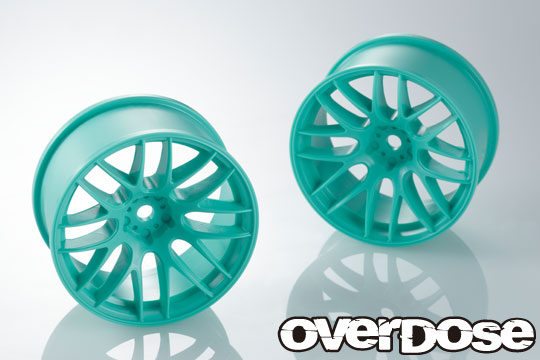 OVERDOSE OD2343 WORK EMOTION M8R (Energy Mint/OFF+7/Limited Edition)