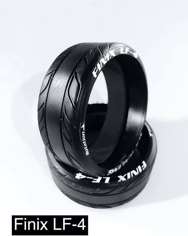 DS-RACING FINIX LF-4PA (2pcs.)