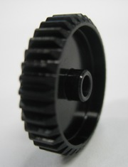 7075 HARD COATED PINION GEAR 48P 38T BLACK