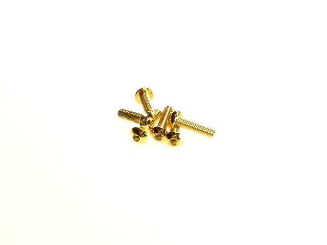 Hiro Seiko Stainless Steel Hex Socket Button Head Screw (M3x12mm)