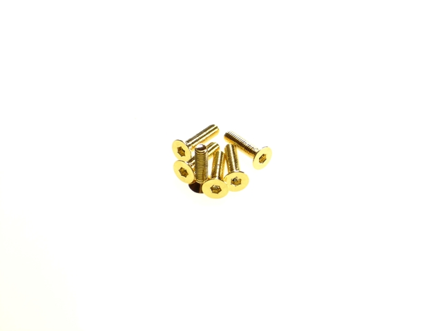 Hiro Seiko Stainless Steel Hex Socket Flat Head Screw (M3x8mm)