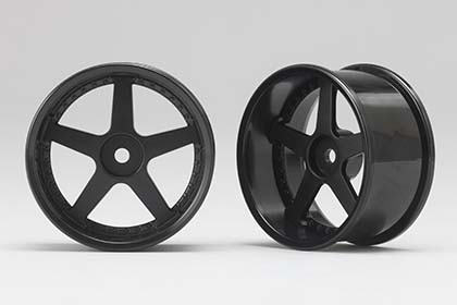 RP-6113B8  Racing Performer Drift Wheel 5 Spokes (8 mm Offset / Black)