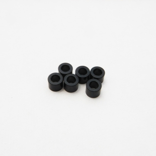 Hiro Seiko 3mm Alloy Spacer Set (4.0t-Black)