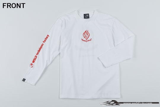 ODW087  Weld T-shirt (long sleeve) Color / White Size / XL