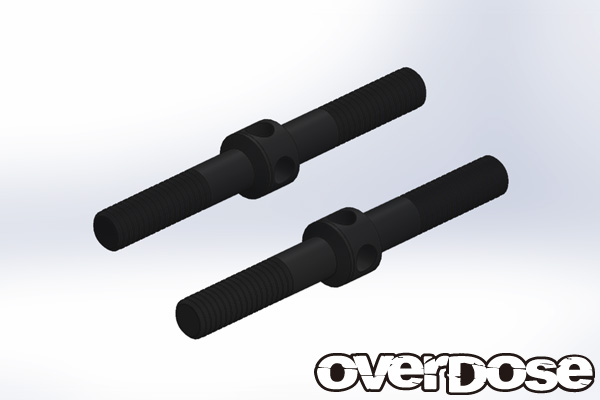 OVERDOSE OD1929  HD turnbuckle (steel / black / 30mm)