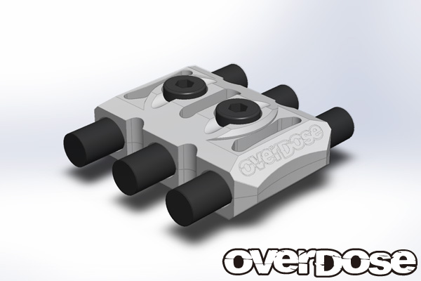 OVERDOSE OD1925 Wire Clamp (Silver)