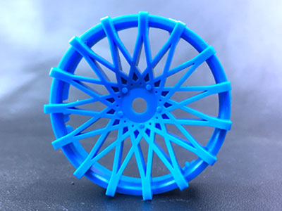 "TT-7526  ""Super RIM"" DISC ""DAHLIA"" Air BLUE 2pcs"