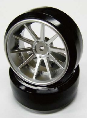 NFW-080MS NF WHEEL OFFSET8 MATTE SILVER