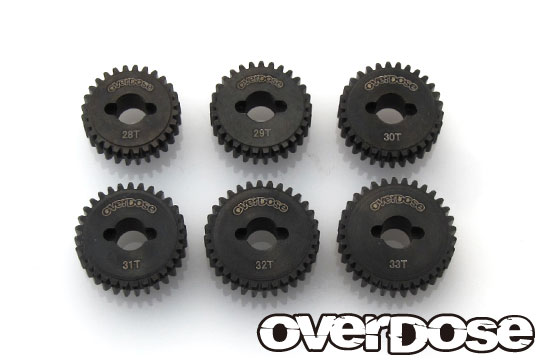 OVERDOSE OD2148a Counter gear high set (28T-33T)