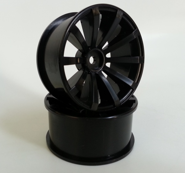 DRS-1050BK WHEEL OFFSET5 BLACK