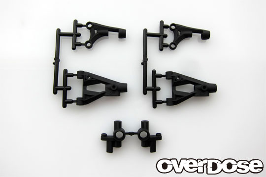 OVERDOSE OD2257 Front suspension arm and knuckle set/ XEX spec.R, OD / ALL