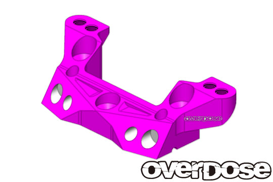 OVERDOSE OD2171 Aluminum rear upper arm mount/XEX, XEX Vspec. / Purple