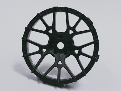 "TT-7602 ""Super RIM"" DISC ""Lycoris"" Solid BLACK 2pcs"