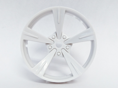 "TT-7638 ""Super RIM"" DISC ""Mandarin"" Heavy WHITE 2pcs"