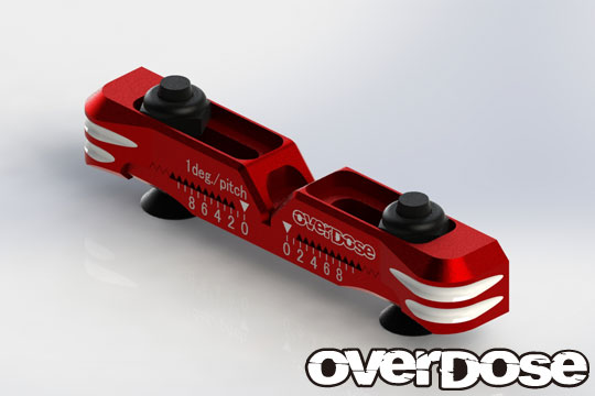 OVERDOSE OD2481 Adjustable Aluminum Suspension Mount Type-2(For OD / Red)