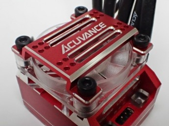 ACUVANCE  High Power Cooling Fan Unit for Xarvis - Red