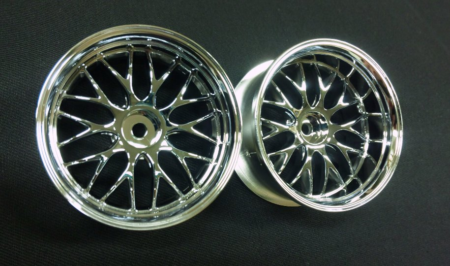 DW-627CS  GNOSIS HS202 wheel offset7 chrome silver