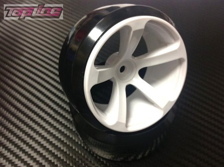 DRS-031WH  DRS-5 WHEEL OFFSET3 WHITE