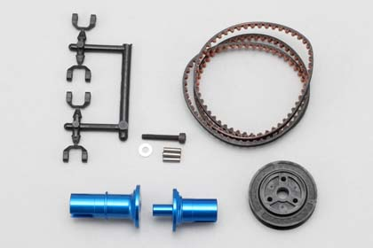 IB-FCD15  Full countet solid axle set (Rear 1,5/Blue)