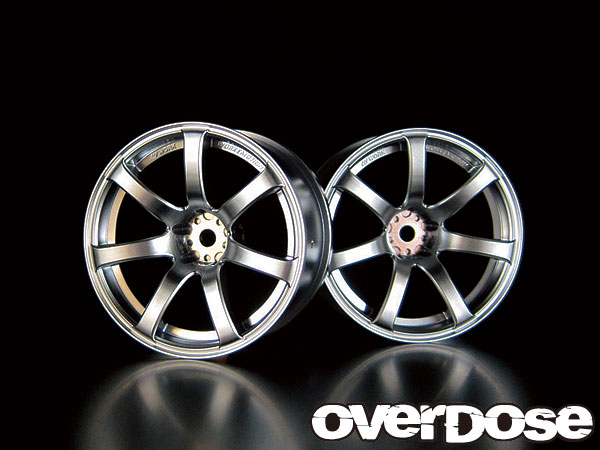 OVERDOSE OD1188 WORK EMOTION XT7 (MATTE CHROME / OFF +5)