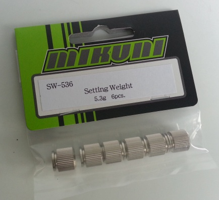 SW-536 Setting weight 5.3g (6pcs)