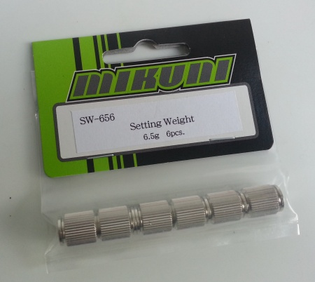 SW-656 Setting weight 6.5g (6pcs)