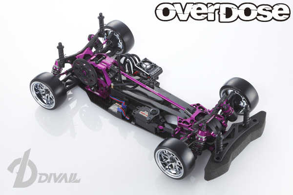 OVERDOSE OD1700 Divall Chassis Kit (Purple)