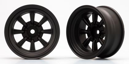 TW-2713BS  RS WATANABE 8 Spoke Wheel(Black) Off-set 12mm