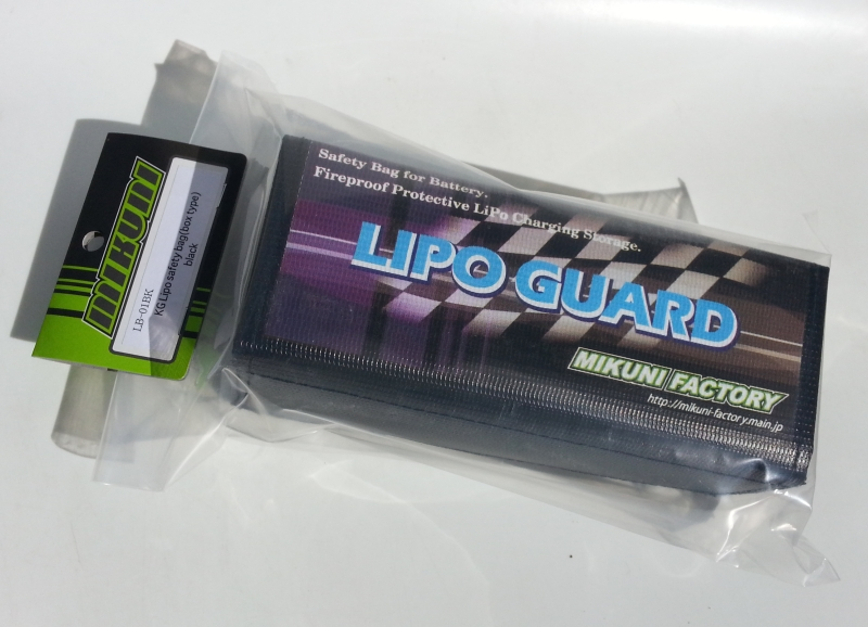 LB-01BK  KG Lipo safety bag(box type)