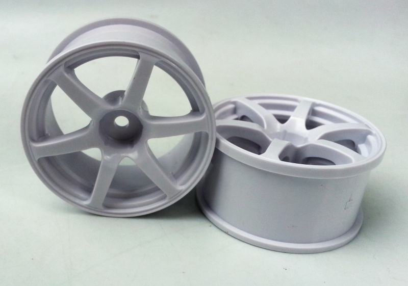 DW-1323WH   AVS model T6 wheel offset3 white