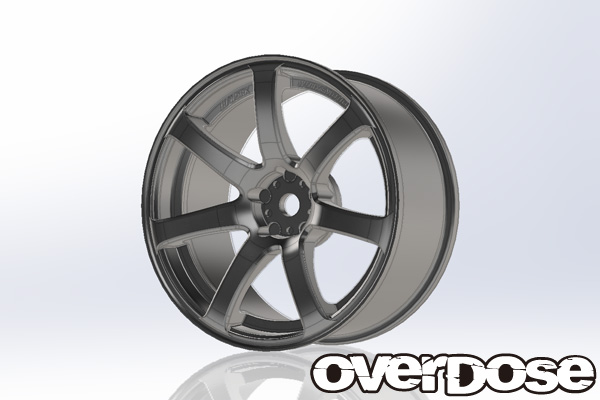 OVERDOSE OD1793 WORK EMOTION XT7 (Matte Chrome / OFF + 3)