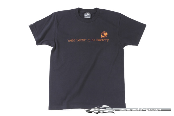 OVERDOSE ODW024  Weld T-shirt color / Black (Orange logo) size / XL