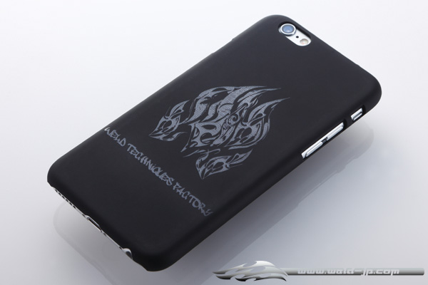 OVERDOSE OD1869 iPhone 6 Case Matte Black / Flame Type