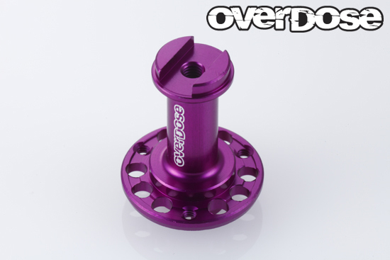 OVERDOSE OD1743  Rear Spool Axle Body (Purple)