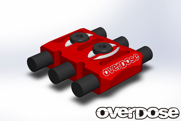 OVERDOSE OD1923 Wire Clamp (Red)