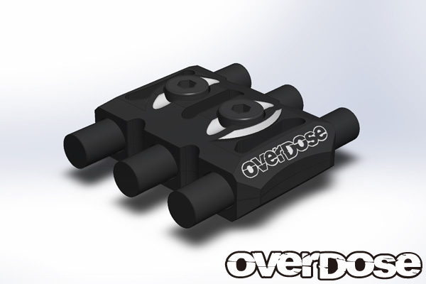 OVERDOSE OD1927 Wire Clamp (Black)
